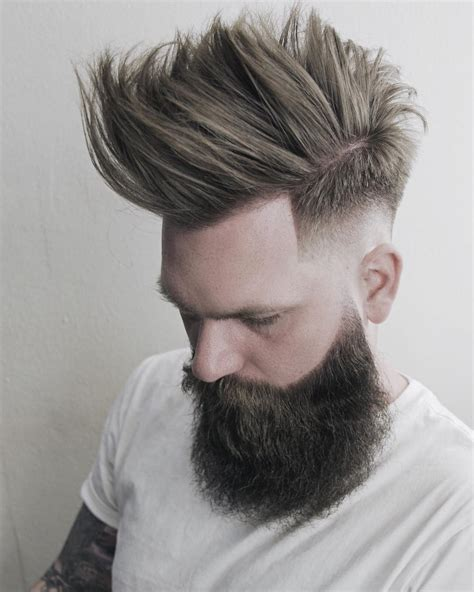 beard styles with fauxhawk fohawk with beard www imgkid com the image kid has it