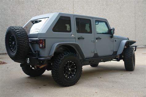 jeep wrangler backseat 2007 jeep wrangler bently grey kevlar with slant back top