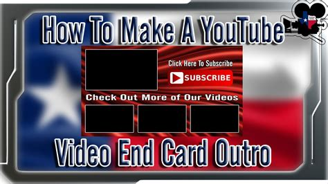 card endings how to make a end card end slate outro