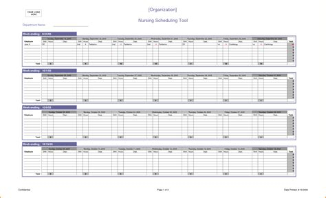 template for a schedule 8 schedule spreadsheet authorization letter