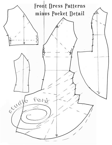 how to drape a dress pattern well suited pattern puzzle the pocket drape