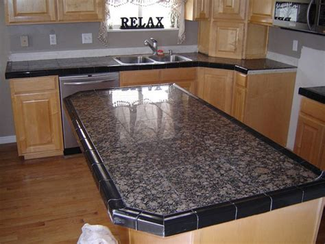 Tiled Kitchen Countertops Marble Tile Counter Top Best Tiles For Countertops Marble Tiles Kitchen In Marble Floor