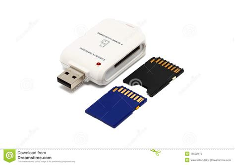 Memory Adaptor Memory Card Adapter Stock Image Image Of Byte Device