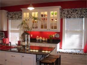 Red Kitchen Accessories Ideas Choosing Right Window Curtains For Kitchen Nice Home Decor