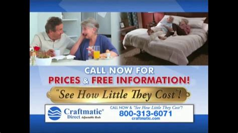 Adjustable Bed Tv Commercials Tony by Craftmatic Tv Commercial Save On Adjustable Beds Ispot Tv
