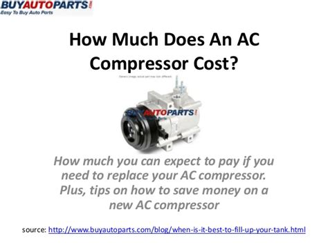 How Much Does It Cost To Replace A Front Door How Much Does An Ac Compressor Cost