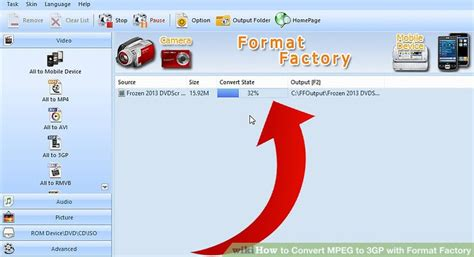 format factory cut video how to convert mpeg to 3gp with format factory 5 steps