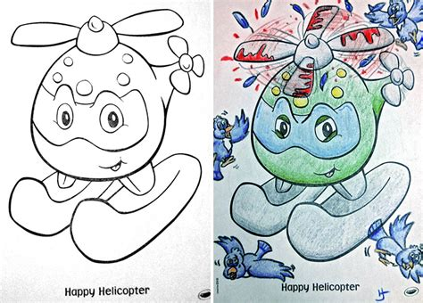 coloring book corruptions see what happens when adults do coloring books part 2