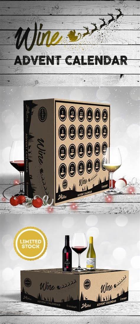 pre order your wine advent calendar today wines
