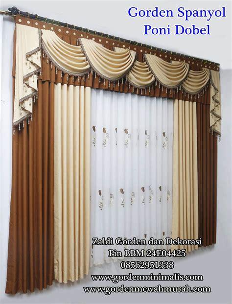 Gorden Casilas Poni Renda Murah dugdix model gorden pintu