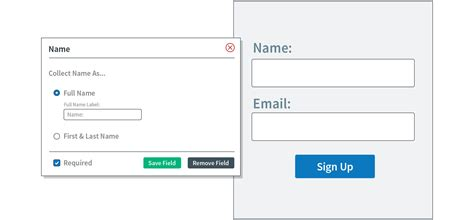 sign form template email sign up form templates aweber email marketing