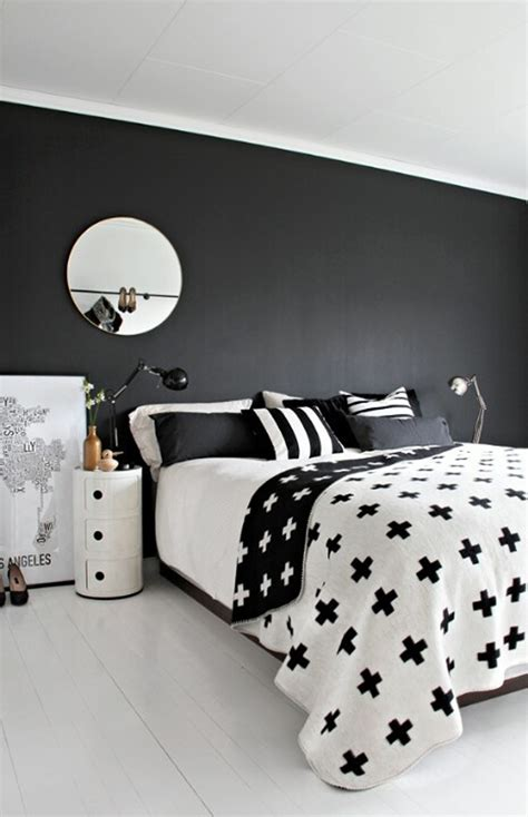 black and white bed 35 timeless black and white bedrooms that know how to