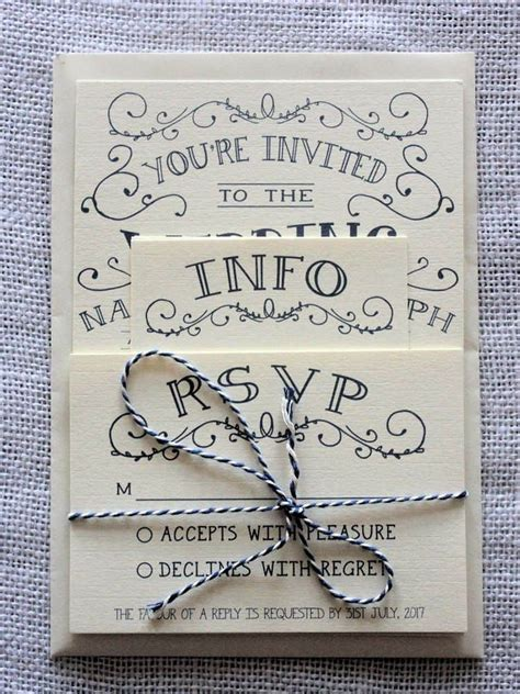 Wedding Invitations Ideas Diy by Wedding Invitations Diy Best Photos Wedding Ideas