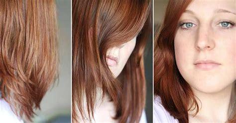 medium golden mahogany blonde garnier olia 5 5 medium mahogany hair colar and cut style