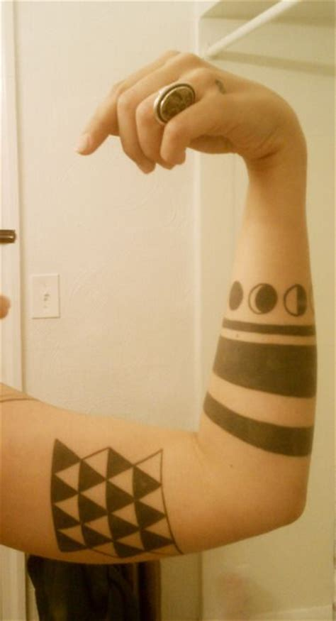 geometric tattoo pittsburgh 50 best images about brack stripes tattoo on pinterest