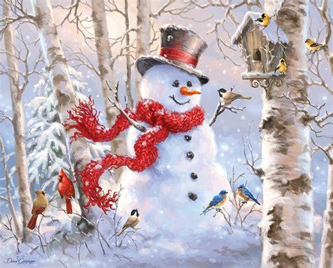 printable winter jigsaw puzzles winter friends hidden images puzzlewarehouse com