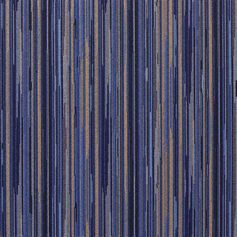 contract upholstery fabric navy blue and gold abstract striped contract upholstery