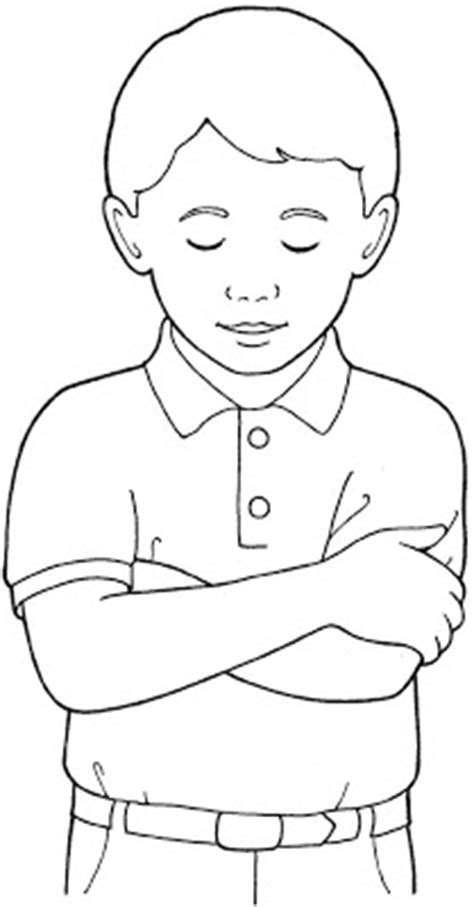 coloring page of boy and girl praying boy and girl praying coloring page coloring download