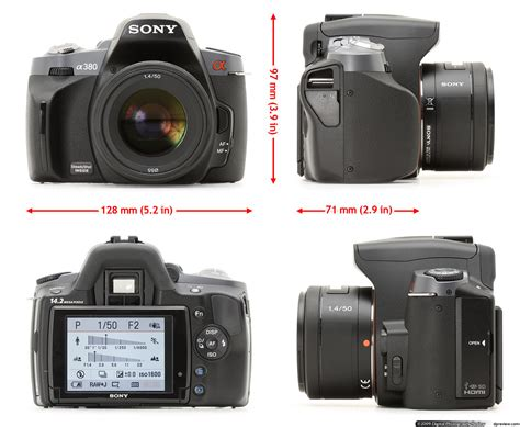 Kamera Sony Dslr A380 sony alpha dslr a380 review digital photography review