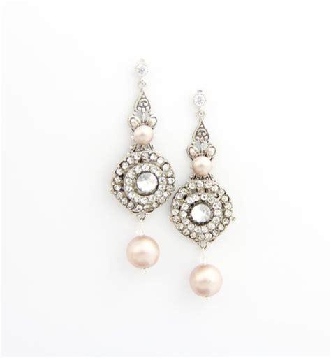 Ohrringe Hochzeit Vintage by 58 Auch Wei 223 E Perlen Aus Litauen Braut Ohrringe
