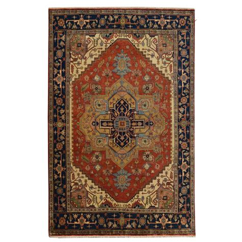 8 by 11 rugs size 8 11 quot x 11 11 quot heriz wool rug from india