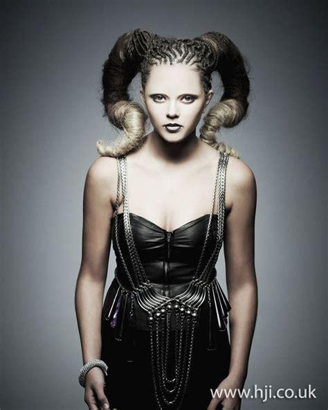 Avant Garde Hairstyles by 2012 Braided Avant Garde Updo Hairstyle Jpg Updos Avant