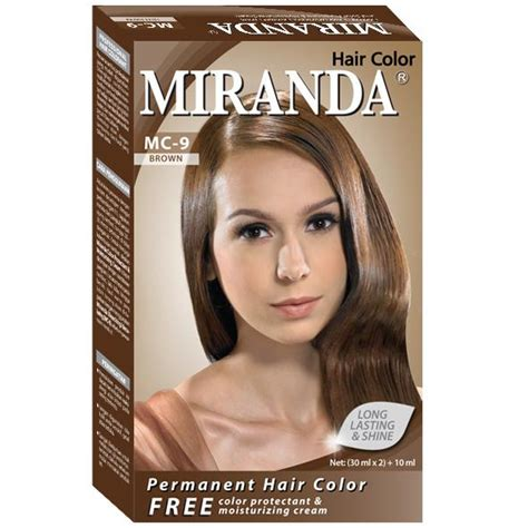 miranda hair color brown 30ml gogobli
