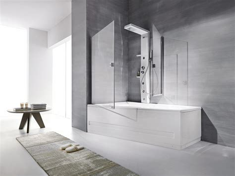 pannelli per vasca da bagno la doccia nella vasca aggiungendo un pannello cose di casa