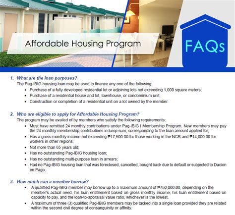 house loan qualifications pag ibig financing guide affordable home philippines house and lot or condos for sale in