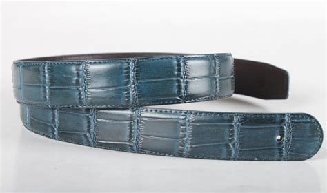 mens genuine leather belt without buckle 115cm ebay