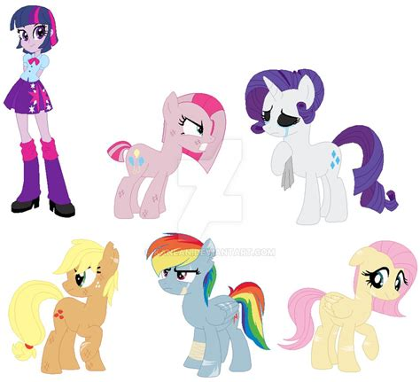 imagenes de sad my little pony mlp au by kanean on deviantart