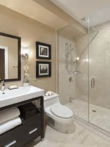 Modern Bathroom Small Bathroom Casual Modern Beige Small Bathroom With Shower