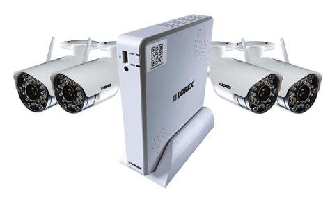 outdoor security systems lorex lh04045gc4w 500gb dvr 4 x wireless