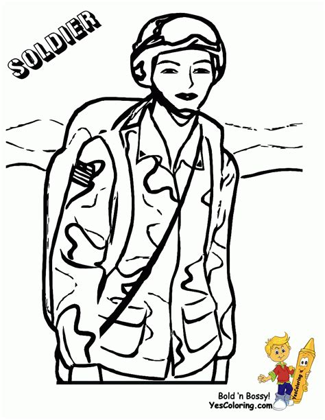soldier coloring pages free az coloring pages