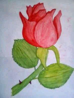 lukisan sederhana tapi menarik indah keren mudah dibuat