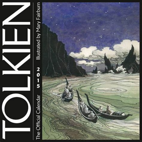 libro tolkien calendar 2018 calendars middle earth news tolkien calendar 2015 features artwork from artist mary fairburn