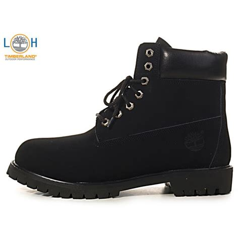 all black timberland boots timberland s 6 inch boot all black 150 00