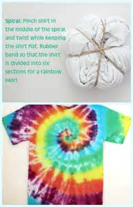 how to tie dye a shirt with food coloring musely