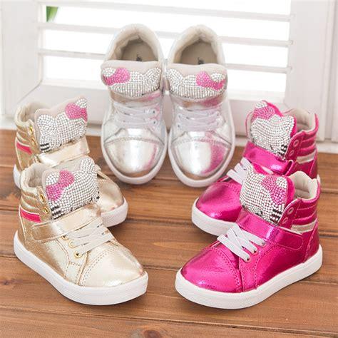 hello kid shoes free shipping 1pair fashion rhinestone children sports