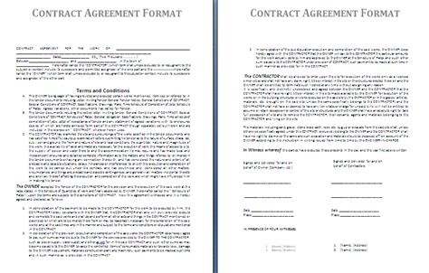 printable personal training contract template form