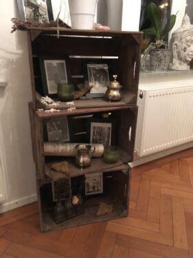 Holzkisten Möbel