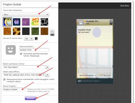 membuat akun yahoo messenger cara memasang fasilitas ym pingbox di blog cara membuat