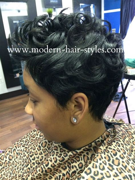 blackhairstyles with wave wrap black hair hairstyles of short razor cuts quick weaves