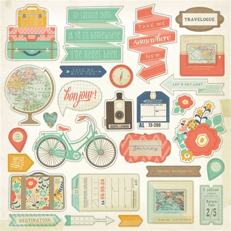Adressetiketten Drucken Pages by My Mind S Eye Hello World Collection Adventure 12 X