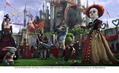 queen film characters alice in wonderland movie images collider