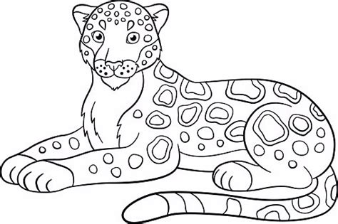 jaguar coloring pages to print printable jaguar to color and use for crafts coloring pages