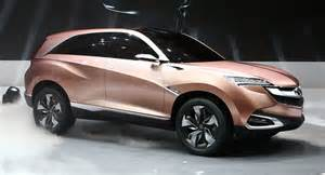 Where Are Acura Made New Acura Concept Suv X Will Lead To A China Made