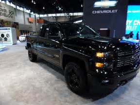 the new chevrolet silverado midnight special edition