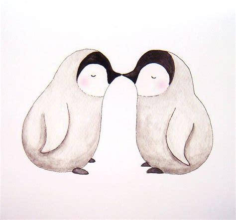 kinderzimmer bild pinguin die besten 25 pinguin illustration ideen auf