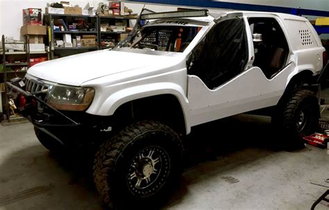 jeep grand light 99 04 jeep gc wj led bracket mounts jeepers market